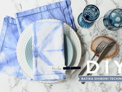 Batika shibori technikou | WESTWING DIY