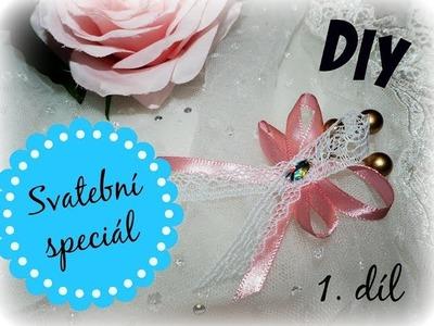 Svatební speciál - DIY vývazky | 1. díl