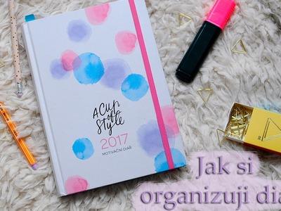 Jak si organizuji svůj diář? | How do I organize my planner?