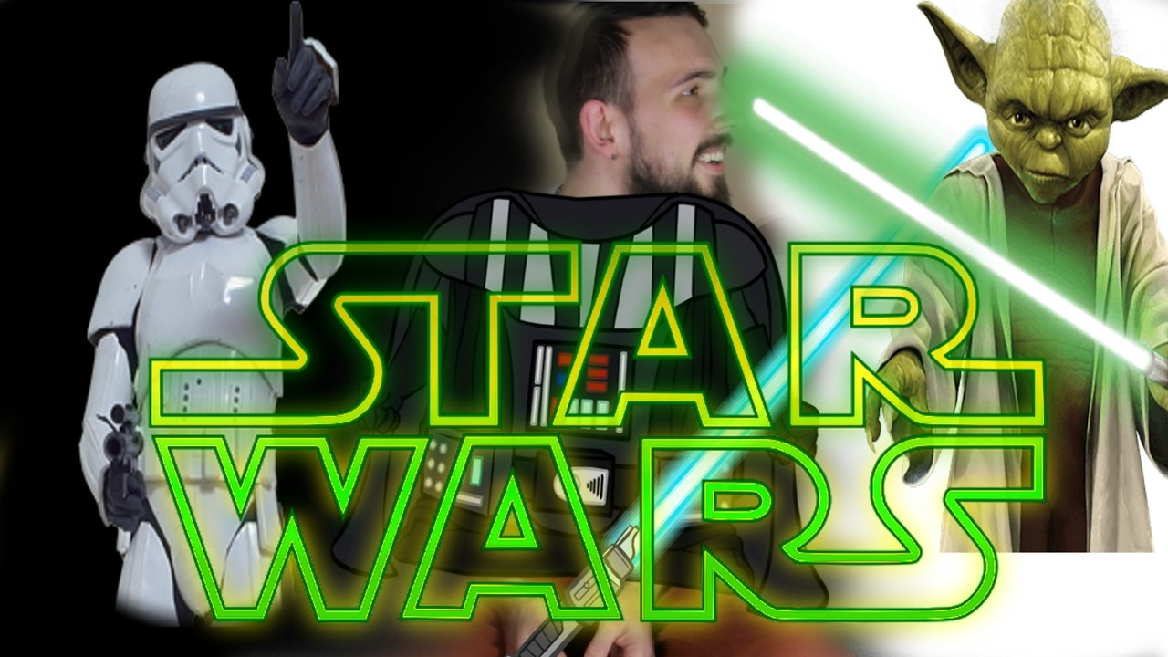 STAR WARS DIY Lightsaber - Zvládneš to i sám!!! SW series #5