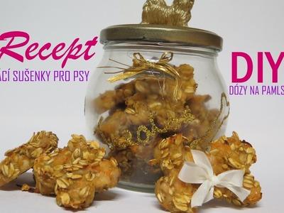 Recept na sušenky pro psy + DIY dózy na pamlsky