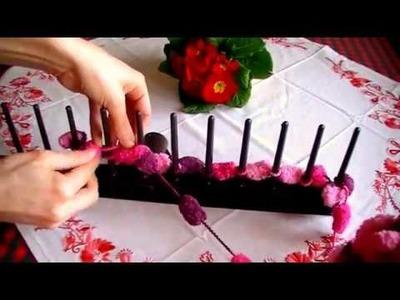 Pončo pro nepletařky rychle a jednoduše.funny and easy knitting - poncho.poncho -quickly and easy