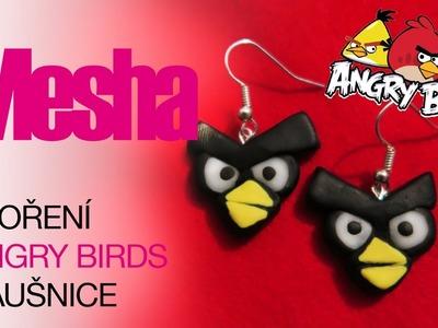 Jak si vyrobit Angry Birds náušnice | DIY