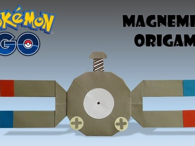 POKEMON - Origami MAGNEMITE Tutorial pokemon origami magnemite how to make pokemon origami magnemite