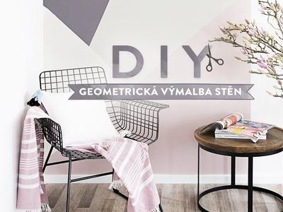 Geometrická výmalba stěn | WESTWING DIY