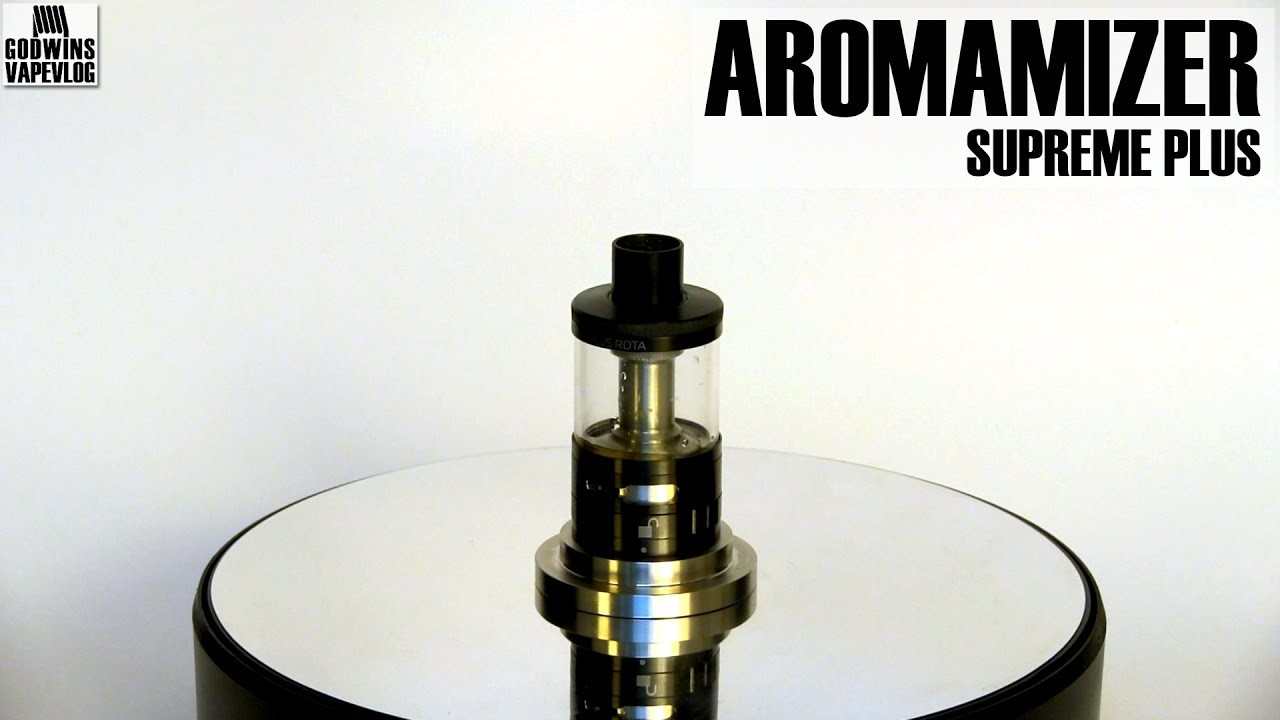 DIY Atomizer - Steam Crave Aromamizer Supreme Plus RDTA - Review (CZ)