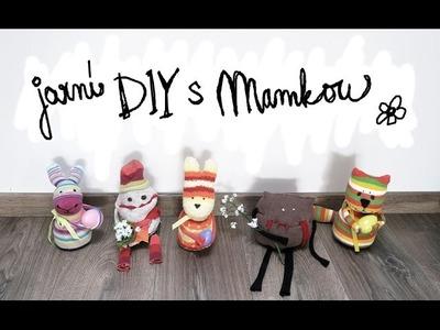 Jarní. Velikonoční DIY | Mamka, Barča a Já - Výroba Zajíčků a Jarních Příšer | Ester Starling