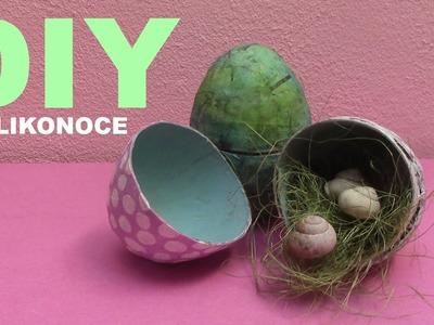 Velikonoční DIY vajíčka z papíru