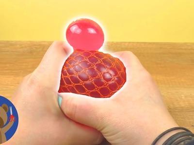 DIY Glibbi Squishy Mesh Ball - super anti-stresový míček - DIY experiment