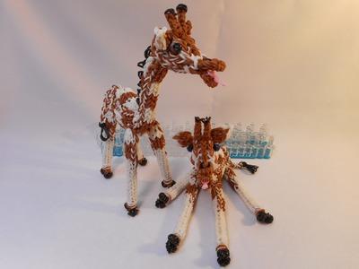 3D  Žirafa z gumiček