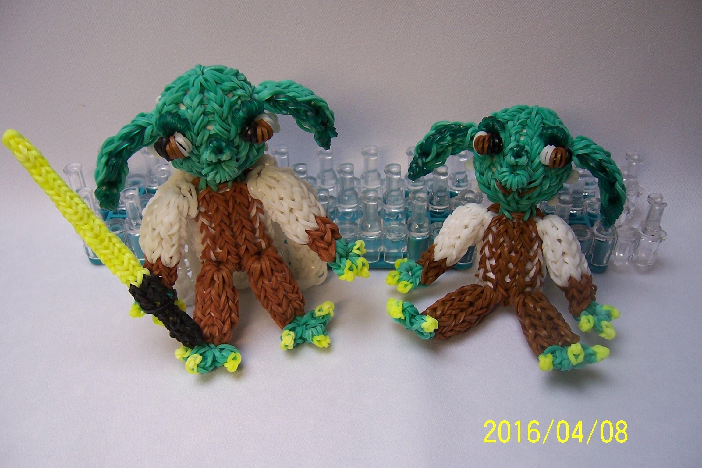 Star Wars - Yoda z gumiček
